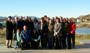 Workshop participants in Sommarøy