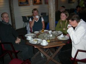 Haakon Meyer, Lone Jørgensen, Tone Omsland, Anne Johanne Søgaard