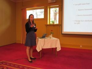 Presentation by Cecilie Dahl