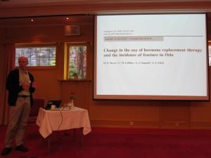 Presentation by Haakon Meyer