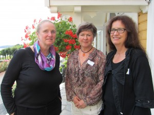 The three pioneer women in NOREPOS