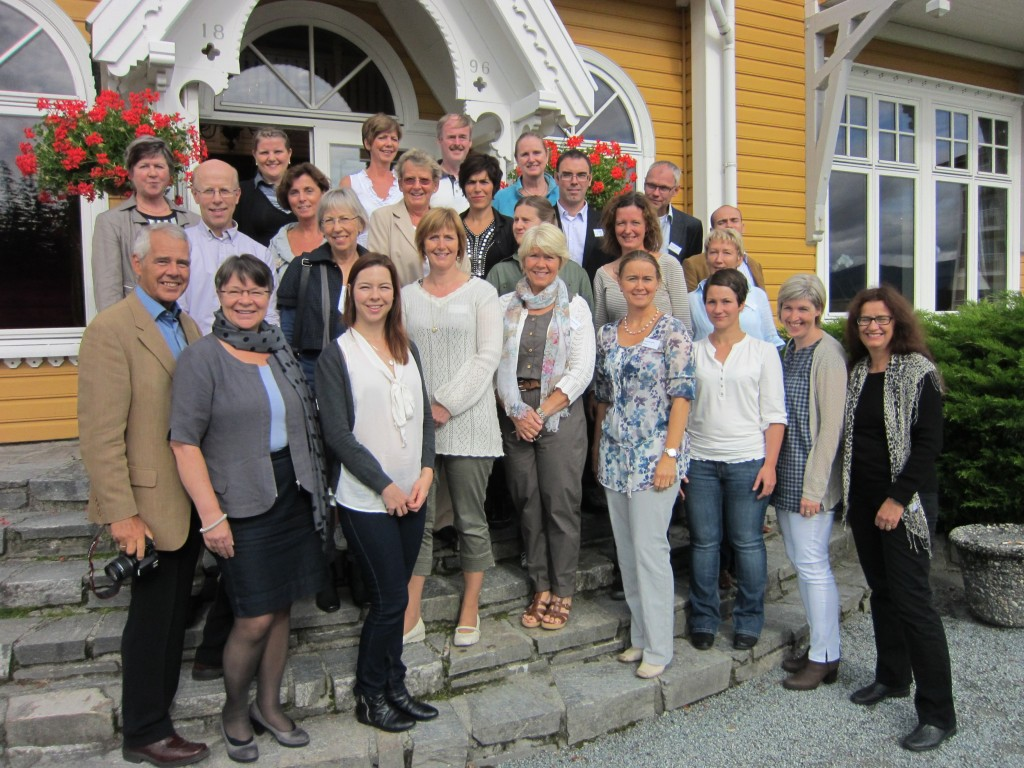 Workshop participants in Solstrand, Os, 2 September 2011