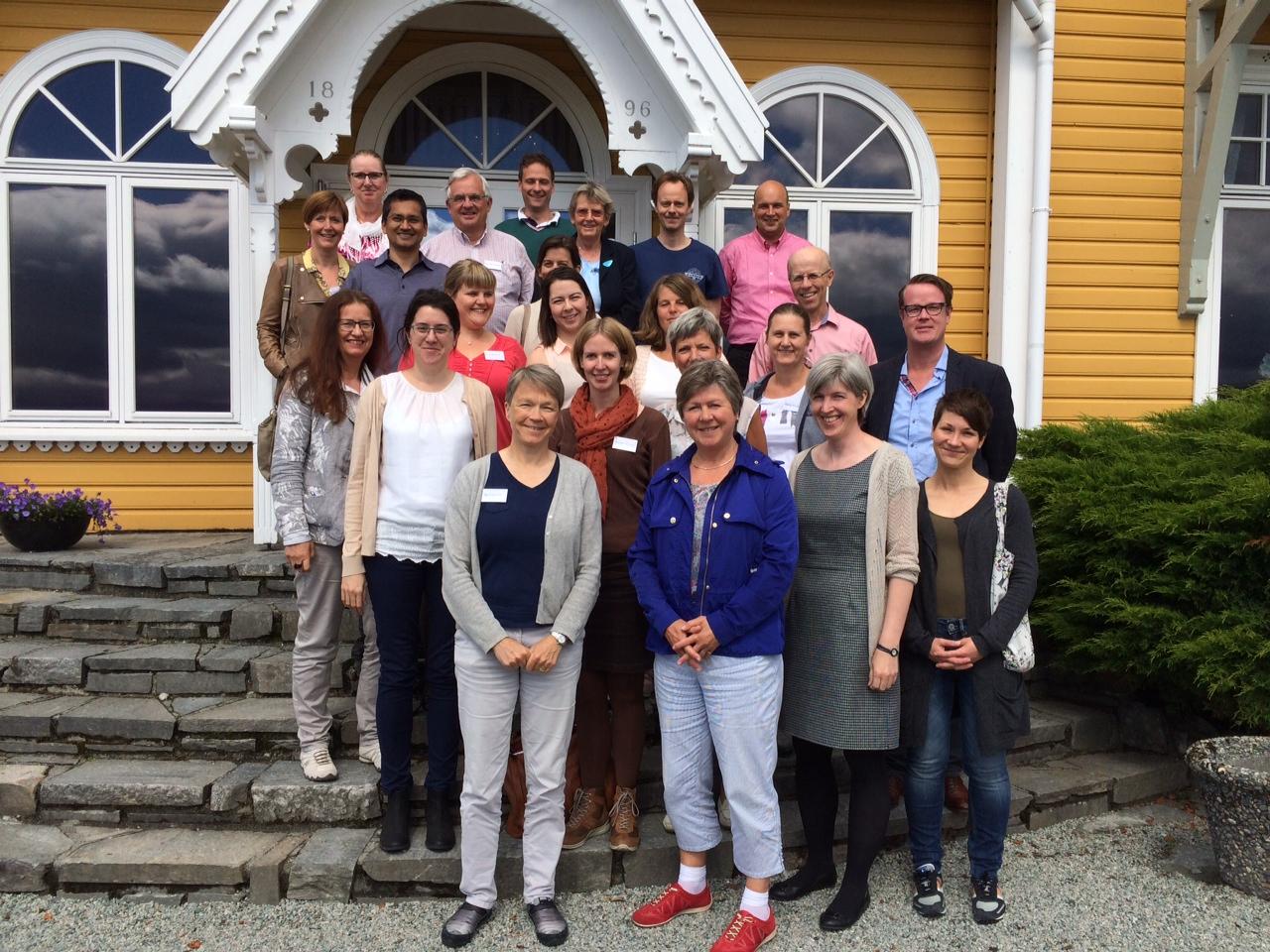Participants in Solstrand, 2014 (photo: Siri Forsmo)